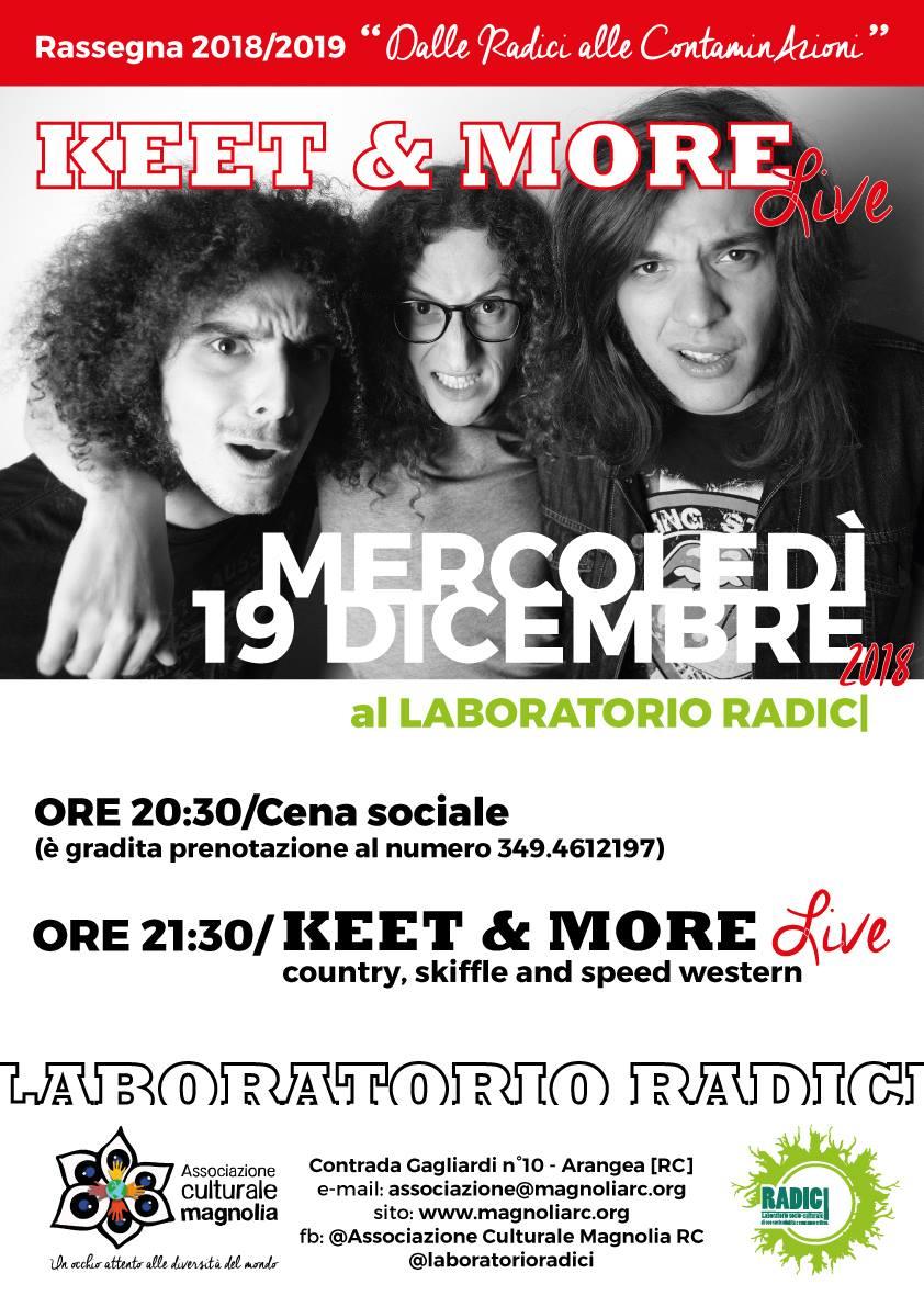 Keet & More live