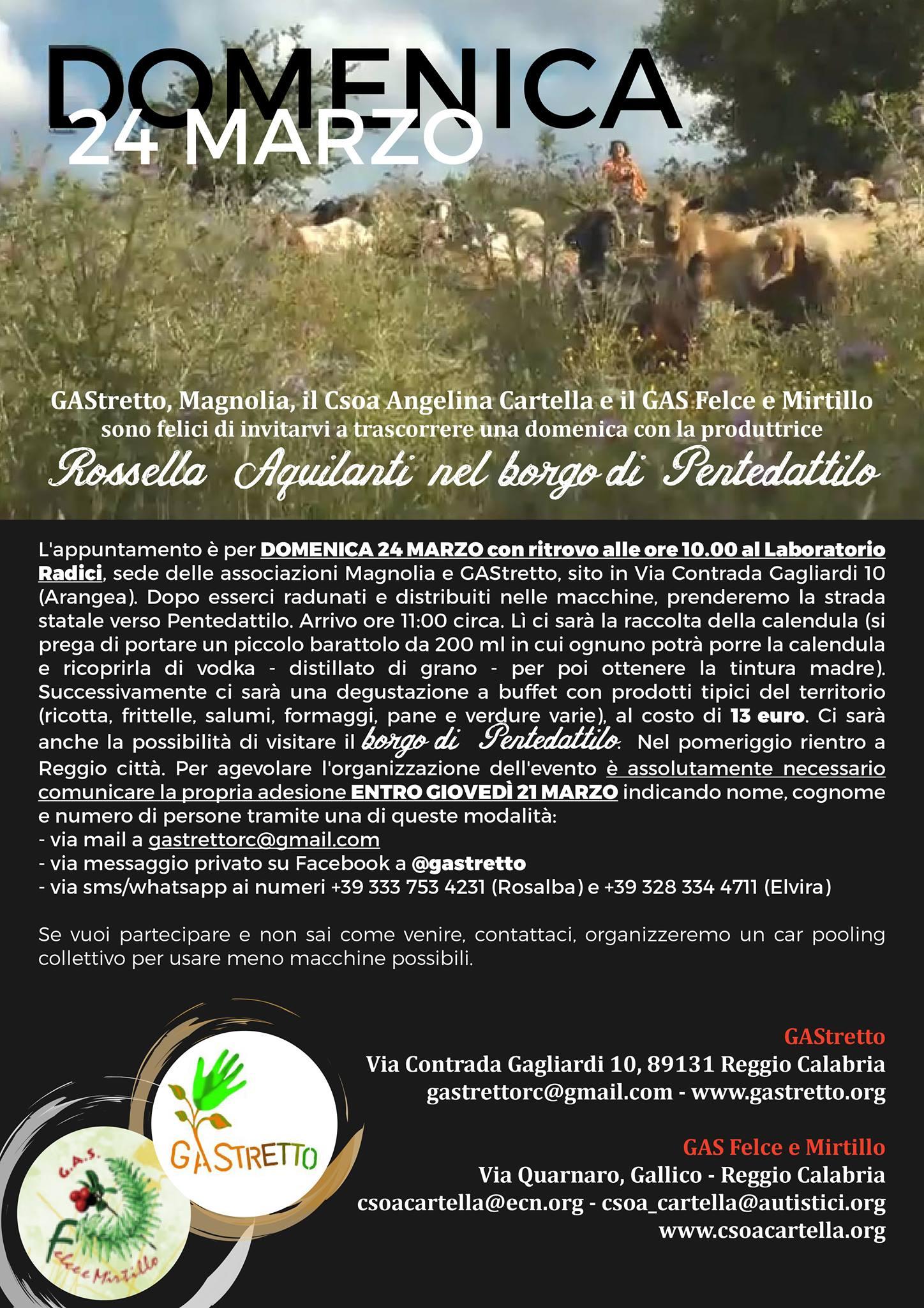 Rossella Aquilanti borgo Pentedattilo