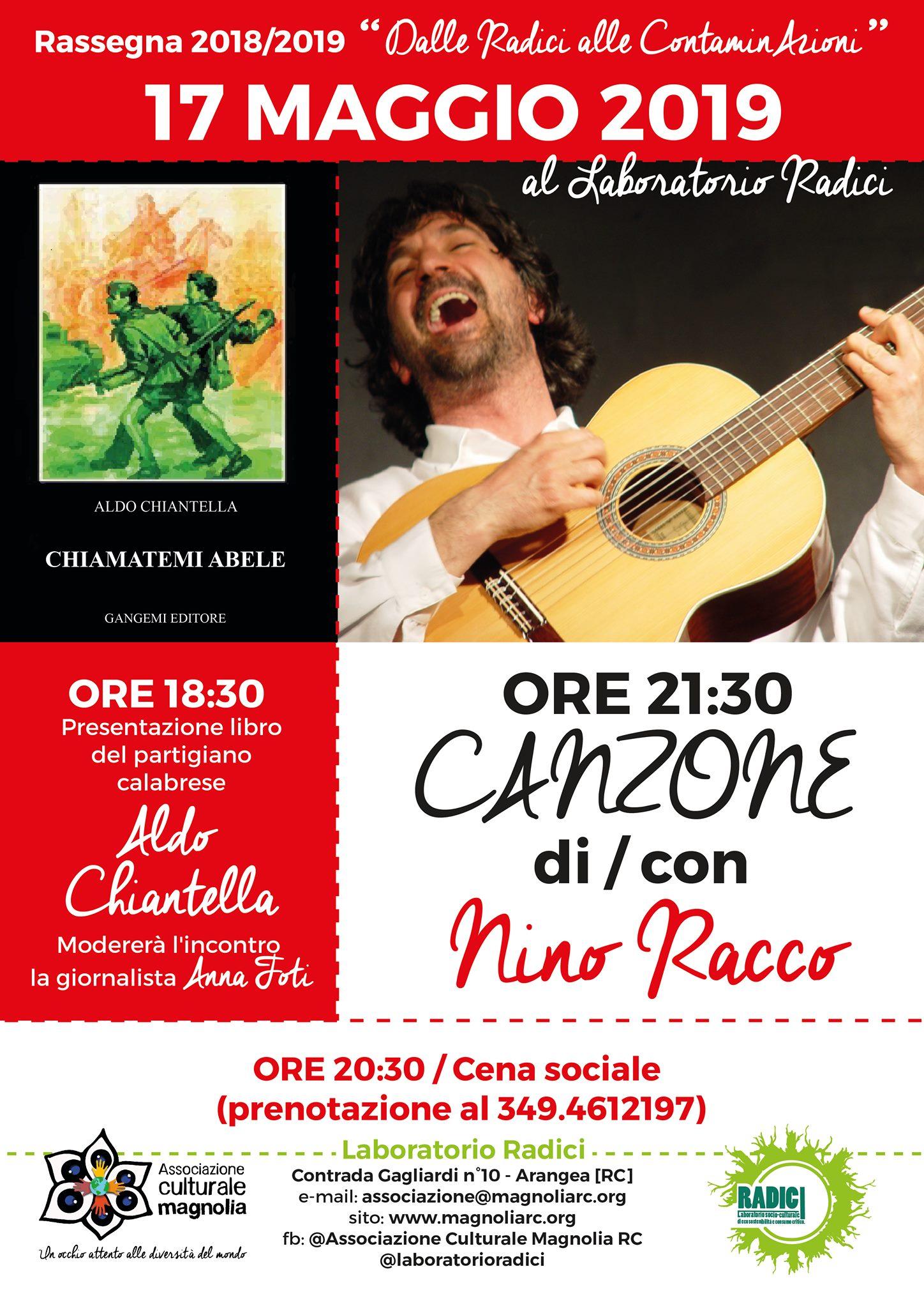 Canzone di Nino Racco