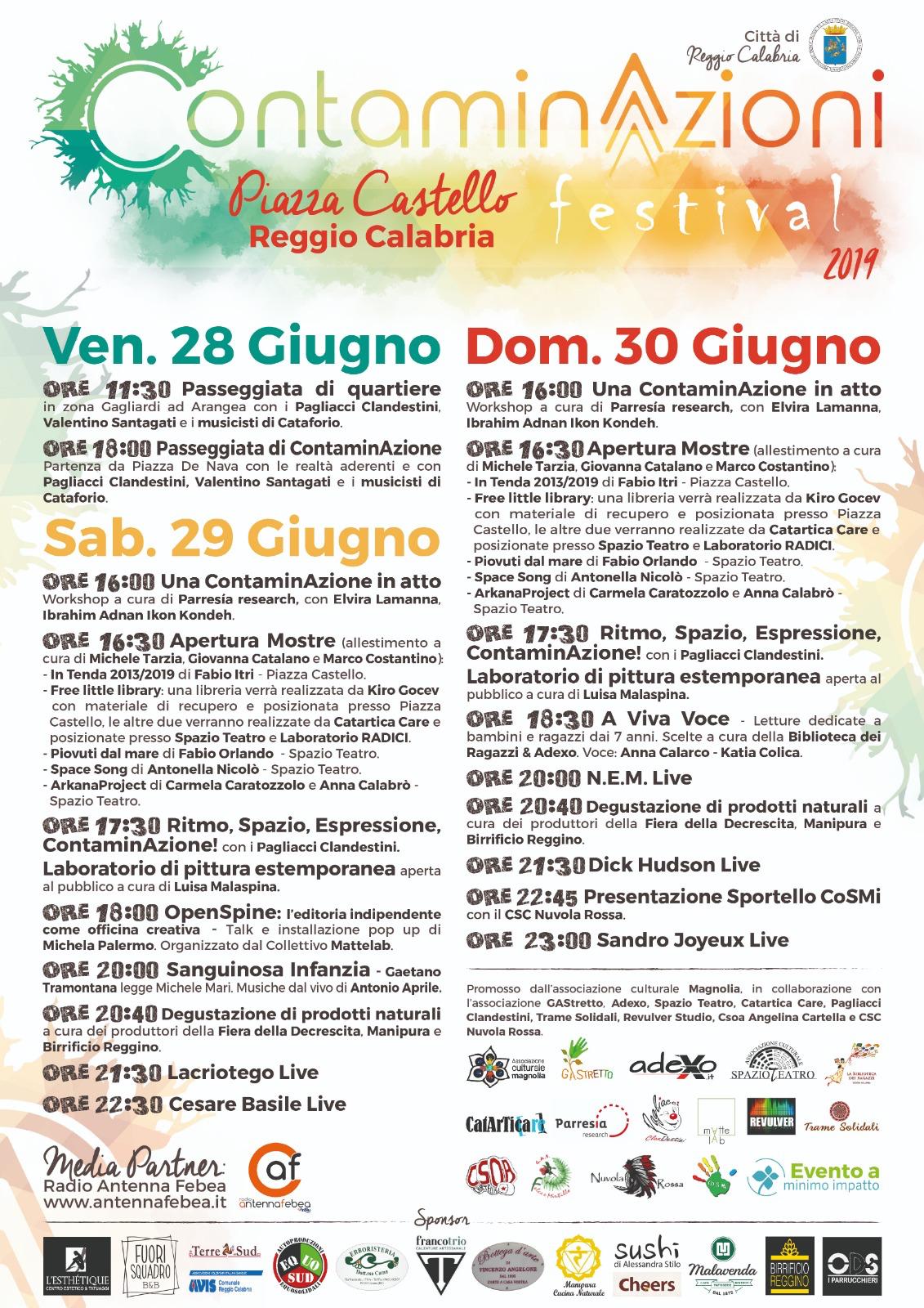 Programma ContaminAzioni Festival