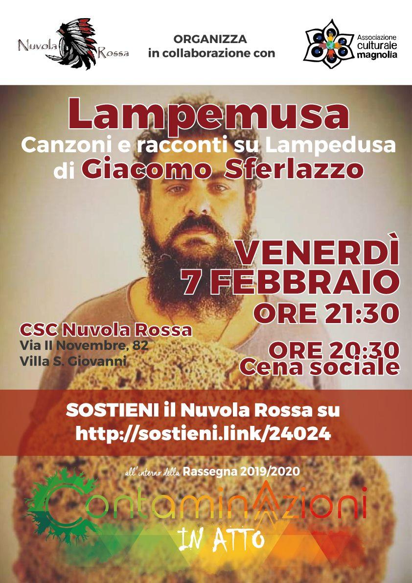 Lampemusa - canzoni e racconti su Lampedusa di Giacomo Sferlazzo