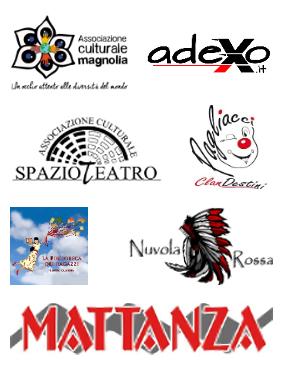Loghi Associazioni e Centri Socio-Culturali