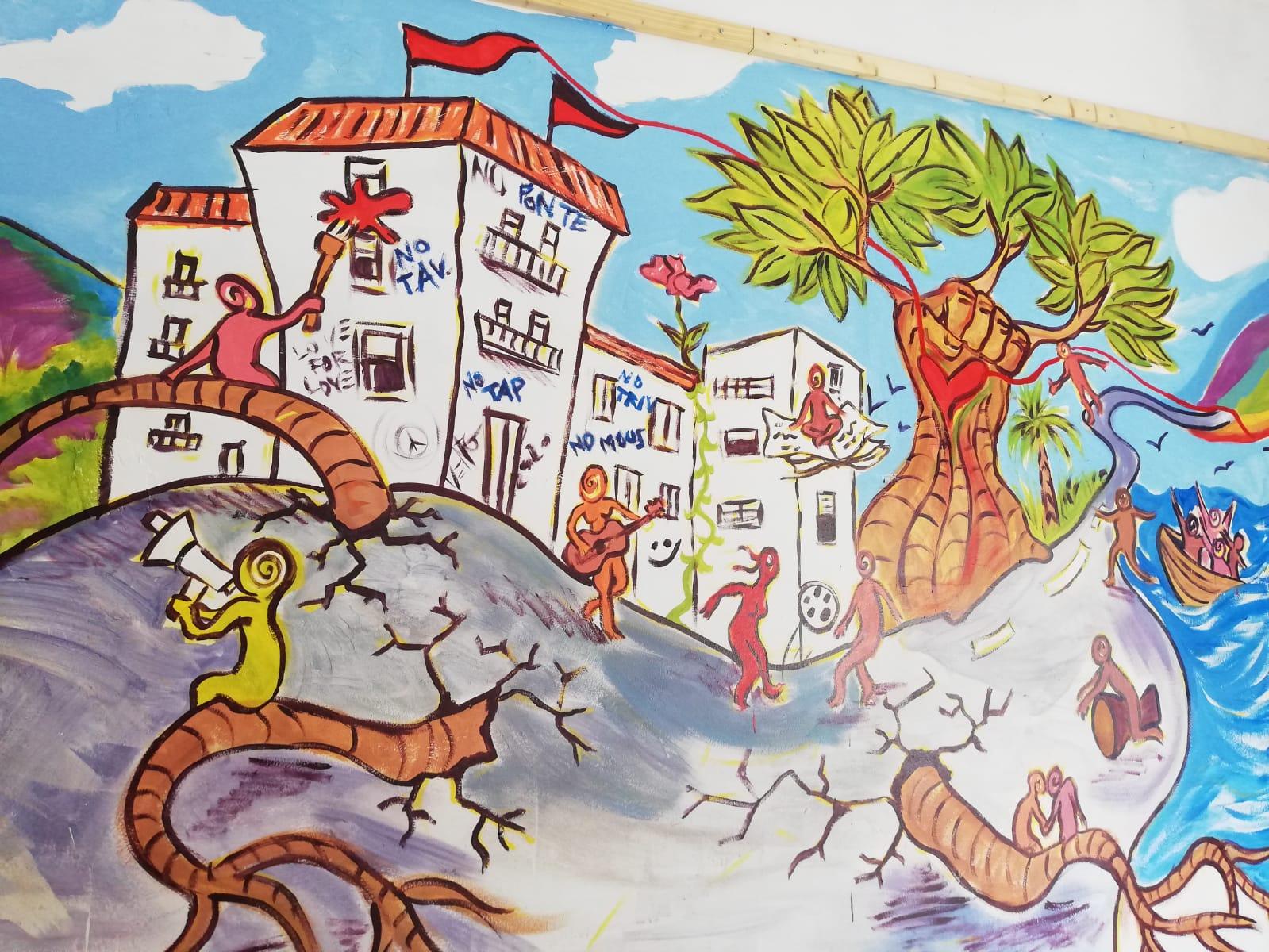 Murales Peter Vento