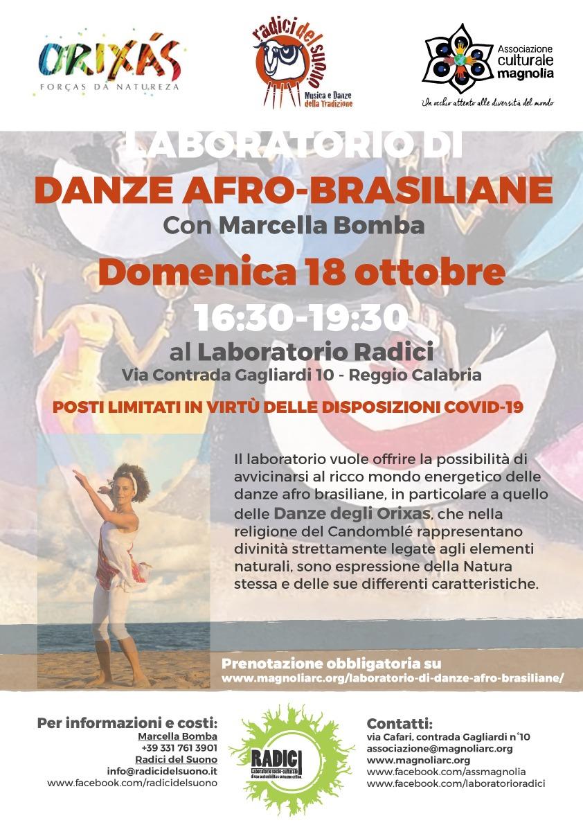 Laboratorio di danze Afro-Brasiliane