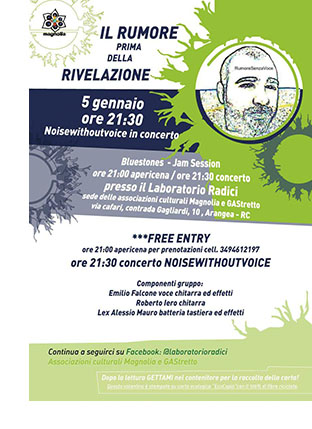 Noisewithoutvoice in concerto